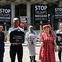 Stop Trump's nuclear war - protest delegation to the US Embassy