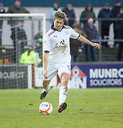 Dundee's Neil McGregor - Ross County v Dundee - Irn Bru Scottish Football League First Division at Victoria Park, Dingwall..- © David Young - .5 Foundry Place - .Monifieth - .DD5 4BB - .Telephone 07765 252616 - .email; davidyoungphoto@gmail.com - .web; www.davidyoungphoto.co.uk