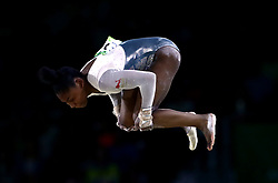 England's Taeja James competes in the floor event of Women's Team Final and Individual Qualification - Subdivision 4 at the Coomera Indoor Sports Centre during day two of the 2018 Commonwealth Games in the Gold Coast, Australia.