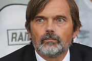 Derby County Manager Phillip Cocu during the EFL Sky Bet Championship match between Derby County and Bristol City at the Pride Park, Derby, England on 20 August 2019.