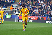 Preston North End Defender Ben Pearson during the Sky Bet Championship match between Bolton Wanderers and Preston North End at the Macron Stadium, Bolton, England on 12 March 2016. Photo by Pete Burns.