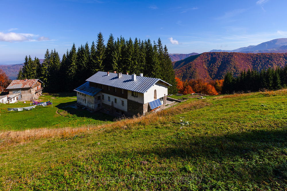 Mountain lodge in Central Balkan national park