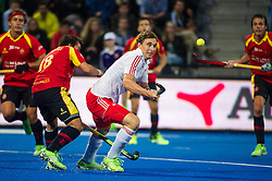 England's Harry Martin. England v Spain - Unibet EuroHockey Championships, Lee Valley Hockey & Tennis Centre, London, UK on 25 August 2015. Photo: Simon Parker