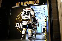 GET-ligaen Ice Hockey, 27. october 2016 ,  Stavanger Oilers v Stjernen<br /> Henrik Solberg fra Stavanger Oilers før kampen v Stjernen<br /> Foto: Andrew Halseid Budd , Digitalsport