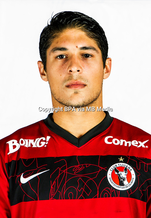 Mexico League - BBVA Bancomer MX 2014-2015 -<br /> Xolos - Club Tijuana / Mexico - <br /> Javier Guemez Lopez