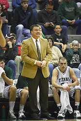 17 December 2011:  Ron Rose during an NCAA mens division 3 basketball game between the Washington University Bears and the Illinois Wesleyan Titans in Shirk Center, Bloomington IL