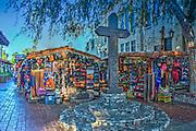 Olvera Street; Los Angeles; El Pueblo Historic Monument; retail Shopping