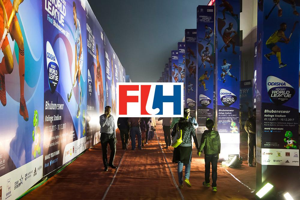 BHUBANESWAR - The Odisha Men's Hockey World League Final . Road to stadium  India v Germany. WORLDSPORTPICS COPYRIGHT  KOEN SUYK