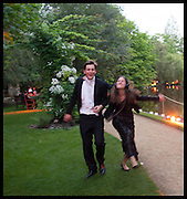 CONRAD JOOG; JANE SONBEF, The Tercentenary Ball, Worcester College. Oxford. 27 June 2014