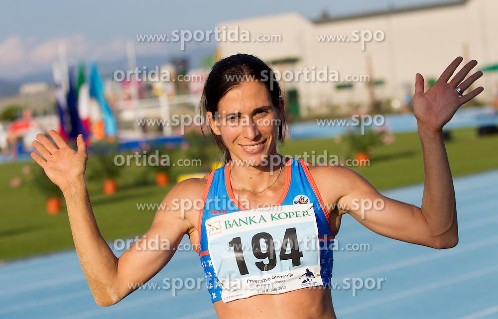 Marija Sestak during Day 1 of Slovenian Athletics National Championships 2012, on July 7, 2012 in Koper, Slovenia.  (Photo by Vid Ponikvar / Sportida.com)