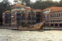 REPLICA CAPTAIN COOK SHIP, PERTH, WESTERN AUSTRALIA June 2005
