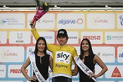 February 17, 2018 - Tavira, Portugal - Geraint Thomas of Team Sky after the 4th stage of the cycling Tour of Algarve between Almodovar and Tavira, on February 17, 2018. (Credit Image: © Filipe Amorim/NurPhoto via ZUMA Press)