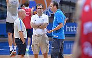 DESCRIZIONE : Qualificazioni EuroBasket 2015 - Allenamento <br /> GIOCATORE : Luca Dalmonte Mario Fioretti Simone Pianigiani<br /> CATEGORIA : nazionale maschile senior A <br /> GARA : Qualificazioni EuroBasket 2015 - Allenamento<br /> DATA : 12/08/2014 <br /> AUTORE : Agenzia Ciamillo-Castoria