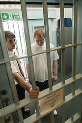Prisoner at reception, UK prison