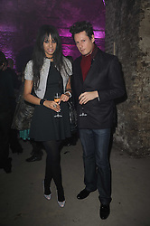 PERCY PARKER and JOY VIELI at the launch of 2 collections by jeweller Stephen Webster - ÔThe 7 Deadly SinsÕ and ÔNo RegretsÕ held at The Old Vics Tunnels, Under Waterloo Station, Off Leake Street, London SE1 on 8th December 2010.<br /> PERCY PARKER and JOY VIELI at the launch of 2 collections by jeweller Stephen Webster - 'The 7 Deadly Sins' and 'No Regrets' held at The Old Vics Tunnels, Under Waterloo Station, Off Leake Street, London SE1 on 8th December 2010.