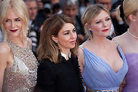 Nicole Kidman, Sofia Coppola, Kirsten Dunst at The Beguiled gala screening at the 70th Cannes Film Festival Wednesday 24th May 2017, Cannes, France. Photo credit: Doreen Kennedy