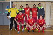 FC Polonia (Edinburgh)  in the Scottish Futsal Finals day semi final at Perth College, Perth, Photo: David Young<br /> <br />  - &copy; David Young - www.davidyoungphoto.co.uk - email: davidyoungphoto@gmail.com