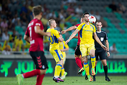 Amedej Vetrih of NK Domzale during 2nd Leg football match between NK Domzale and FC Freiburg in 3rd Qualifying Round of UEFA Europa League 2017/18, on August 3rd, 2017 in SRC Stozice, Ljubljana, Slovenia. Photo by Urban Urbanc / Sportida