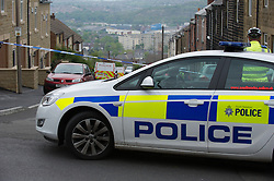 Police attend crime scene at rear of property on Lister Road, Walkley, Sheffield