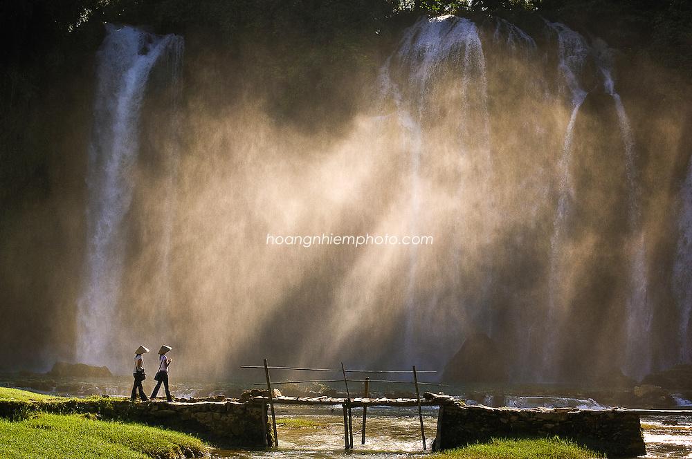 Vietnam Images-Landscape-Nature-Ban Gioc waterfall phong cảnh việt nam -Hoàng thế Nhiệm