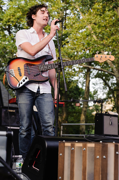 Photos of the band The Apache Relay performing at Central Park Summerstage, NYC. July 16, 2012. Copyright © 2012 Matthew Eisman. All Rights Reserved.