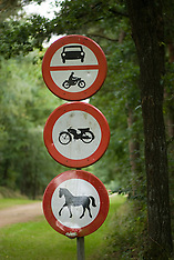 Traffic signs, verkeersborden
