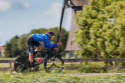 GANNA Filippo from ITALY during Men Elite Time Trial at 2019 UEC European Road Championships, Alkmaar, The Netherlands, 8 August 2019. <br /> <br /> Photo by Pim Nijland / PelotonPhotos.com <br /> <br /> All photos usage must carry mandatory copyright credit (Peloton Photos | Pim Nijland)