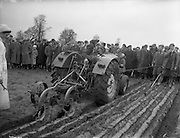 Queen of the Plough contest at the National Ploughing Championship, Kilkenny. 29/01/1959 .<br />