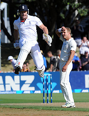 Wellington-Cricket, New Zealand v England, 2nd test, day 1, March 14