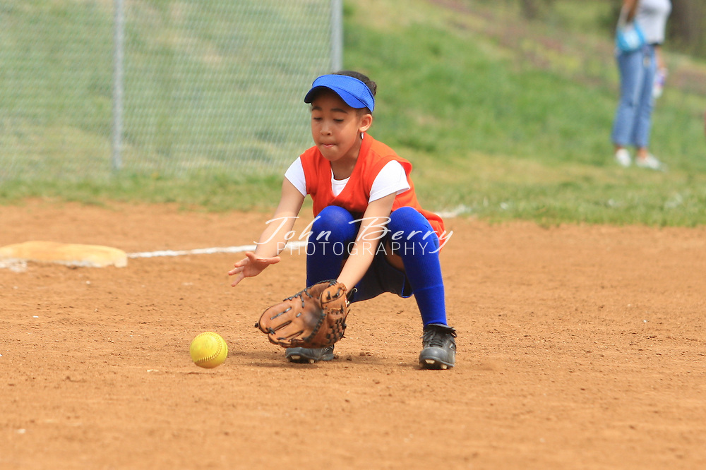 MPR Softball, 8U .Little Cubbies vs Bombers.4/12/08