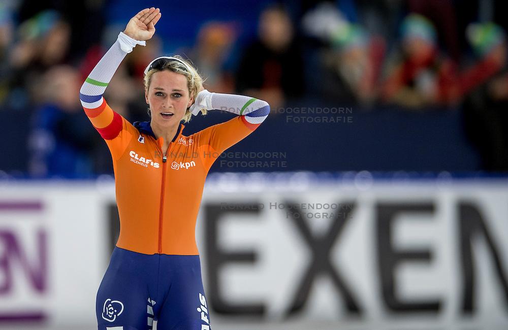 11-12-2016 NED: ISU World Cup Speed Skating, Heerenveen<br /> Irene Schouten op de 5000 m