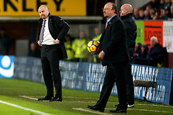 Burnley manager Sean Dyche and Newcastle United manager Rafa Benitez - Mandatory by-line: Robbie Stephenson/JMP - 30/10/2017 - FOOTBALL - Turf Moor - Burnley, England - Burnley v Newcastle United - Premier League