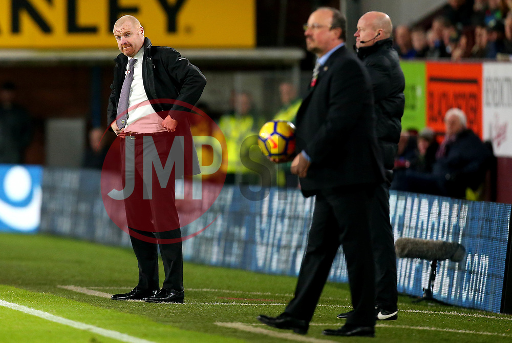 Burnley manager Sean Dyche and Newcastle United manager Rafa Benitez - Mandatory by-line: Robbie Stephenson/JMP - 30/10/2017 - FOOTBALL - Turf Moor - Burnley, England - Burnley v Newcastle United - Premier League