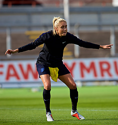 NEWPORT, WALES - Thursday, August 30, 2018: England's captain Steph Houghton during a training session at Rodney Parade ahead of the final FIFA Women's World Cup 2019 Qualifying Round Group 1 match between Wales and England. (Pic by David Rawcliffe/Propaganda)