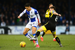 Daniel Leadbitter of Bristol Rovers is tackled by Lee Frecklington of Rotherham United - Mandatory by-line: Dougie Allward/JMP - 02/12/2017 - FOOTBALL - Memorial Stadium - Bristol, England - Bristol Rovers v Rotherham United - Sky Bet League One
