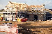 New rural housing development Cavell Close, Bawdsey, Suffolk, England