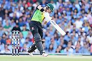 D'Arcy Short drives. T20 international, Australia v India. Sydney Cricket Ground, NSW, Australia, 25 November 2018. Copyright Image: David Neilson / www.photosport.nz