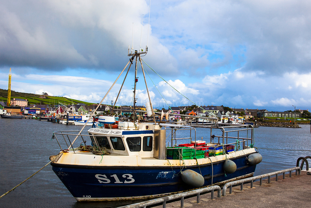 Fishing boat in Dingle, Kerry, Ireland