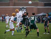 Gilford soccer versus Newfound.  Karen Bobotas for the Laconia Daily Sun