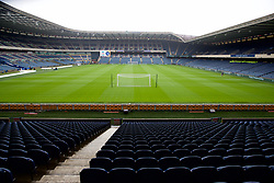 EDINBURGH, SCOTLAND - Sunday, July 28, 2019: A general view of Murrayfield Stadium before a pre-season friendly match between Liverpool FC and SSC Napoli. (Pic by David Rawcliffe/Propaganda)