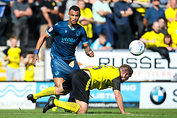 Jonson Clarke-Harris of Bristol Rovers takes on Jake Buxton of Burton Albion - Mandatory by-line: Robbie Stephenson/JMP - 31/08/2019 - FOOTBALL - Pirelli Stadium - Burton upon Trent, England - Burton Albion v Bristol Rovers - Sky Bet League One