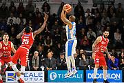 Hatcher William<br /> Banco di Sardegna Dinamo Sassari - The Flexx Pistoia<br /> LegaBasket Serie A LBA Poste Mobile 2017/2018<br /> Sassari 16/12/2017<br /> Foto Ciamillo-Castoria