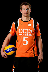 25-04-2013 VOLLEYBAL: NEDERLANDS MANNEN VOLLEYBALTEAM: ROTTERDAM<br /> Selectie Oranje mannen seizoen 2013-2014 / Jelte Maan<br /> ©2013-FotoHoogendoorn.nl