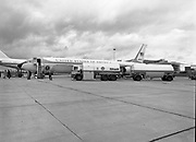 Refueling U.S. Air Force President Plane for Irish Shell, Dublin Airport,<br />