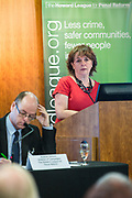 Frances Crook <br /> Chief Executive, speaking at the Howard League for Penal reform's Community Awards 2015 The Kings Fund, London, UK. All use must be credited © prisonimage.org