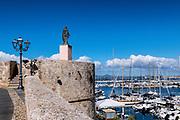 Harbor boats, Alghero, Sardinia, Italy