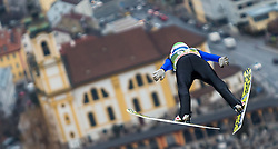 02.01.2016, Bergisel Schanze, Innsbruck, AUT, FIS Weltcup Ski Sprung, Vierschanzentournee, Training, im Bild Daniel Andre Tande (NOR) // Daniel Andre Tande of Norway during his Practice Jump for the Four Hills Tournament of FIS Ski Jumping World Cup at the Bergisel Schanze, Innsbruck, Austria on 2016/01/02. EXPA Pictures © 2016, PhotoCredit: EXPA/ Jakob Gruber