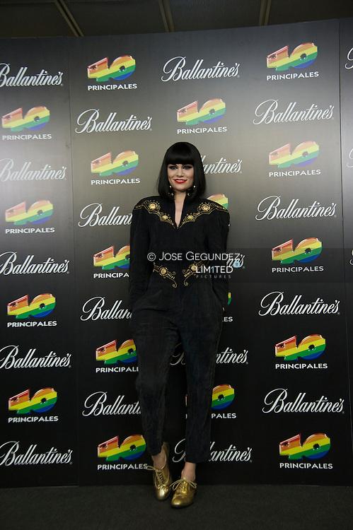 Jessie J attends '40 Principales Awards 2011' press room at the Palacio de Deportes on December 9, 2011 in Madrid, Spain