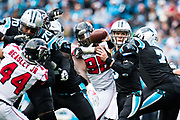 December 23, 2018. Panthers vs Falcons. Taylor Heinicke, QB