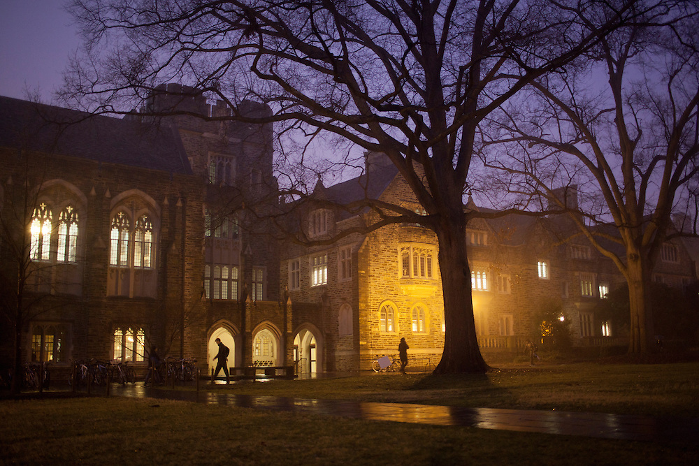 Duke University, Durham, North Carolina, January 23, 2012. Photo by D.L. Anderson